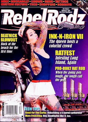REBEL RODS COVER