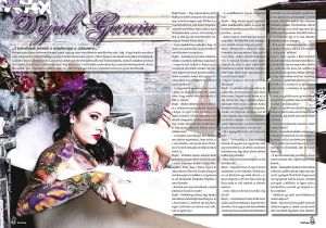 HUNGARIAN MAGAZINE FEATURE